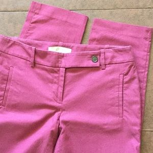 LOFT Marisa mostly cotton pants, size 2